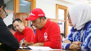 Tidak Cukup Waktu, Perbaikan Alun - Alun Kejaksan Kota Cirebon Rampung 2020
