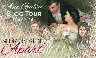 MY JANE AUSTEN BOOK CLUB: BLOG TOUR - ANN GALVIA, SIDE BY SIDE WITH