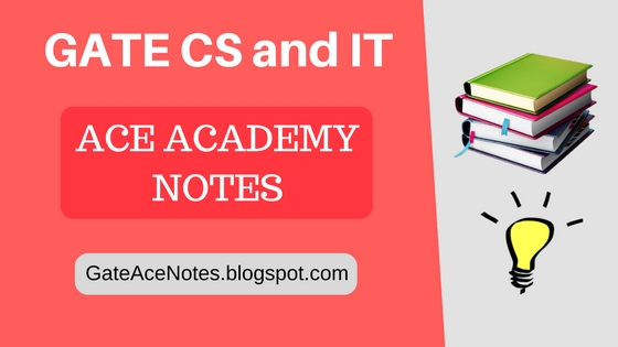 gate cs ace academy notes, gate cs study material free download