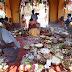দিদি ঠাকরুনের পুজোয় মেতে উঠল কাটোয়ার মুস্থূলী গ্রাম