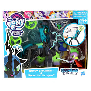 MLP Guardians of Harmony Queen Chrysalis v. Spike the Dragon