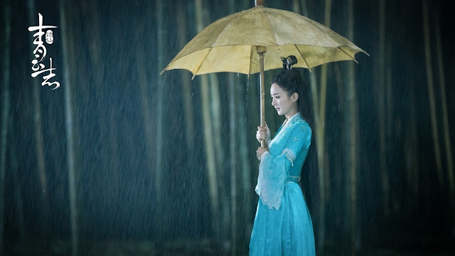 Zhao Li Ying in Chinese fantasy wuxia Legend of Chusen