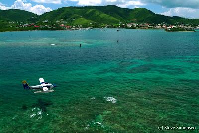 Paysage de Sainte Croix îles vierges des Etats-Unis