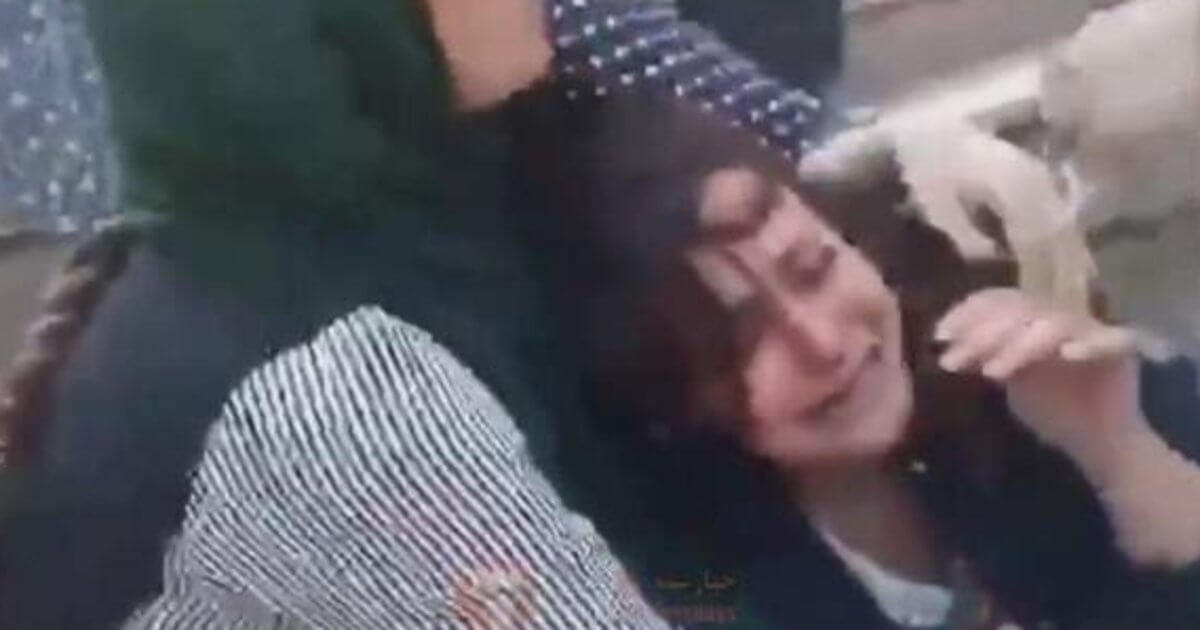Iran's 'Morality Police' Slapped A Young Woman And Wrestled Her To The Floor Because Her Hijab Was Loose