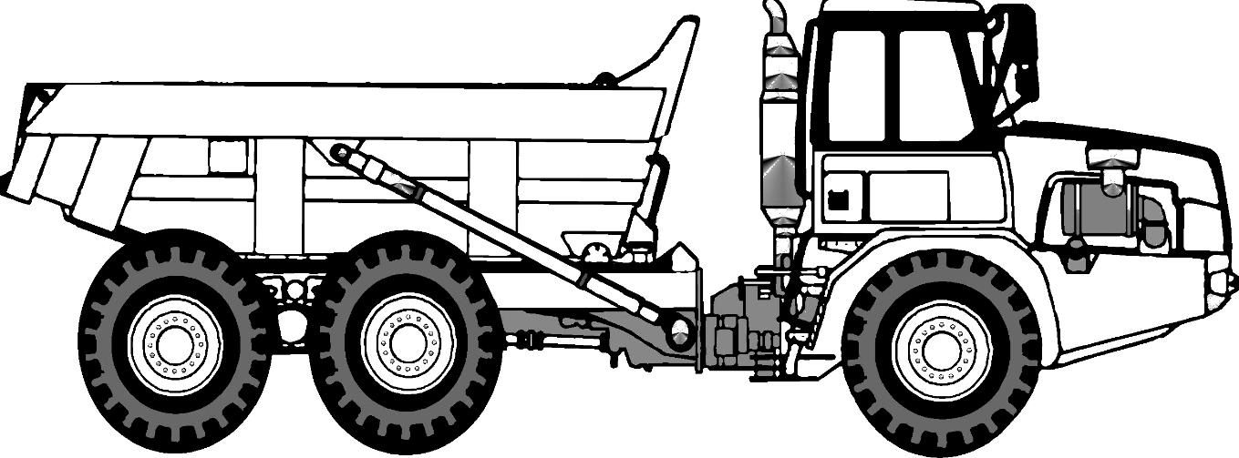 Mobil Truk Pengangkut Pasir Tetap Garang Segala Kondisi Jalan