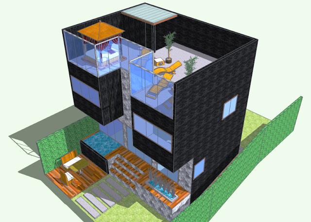 Desain Unit Villa Jepara Type A