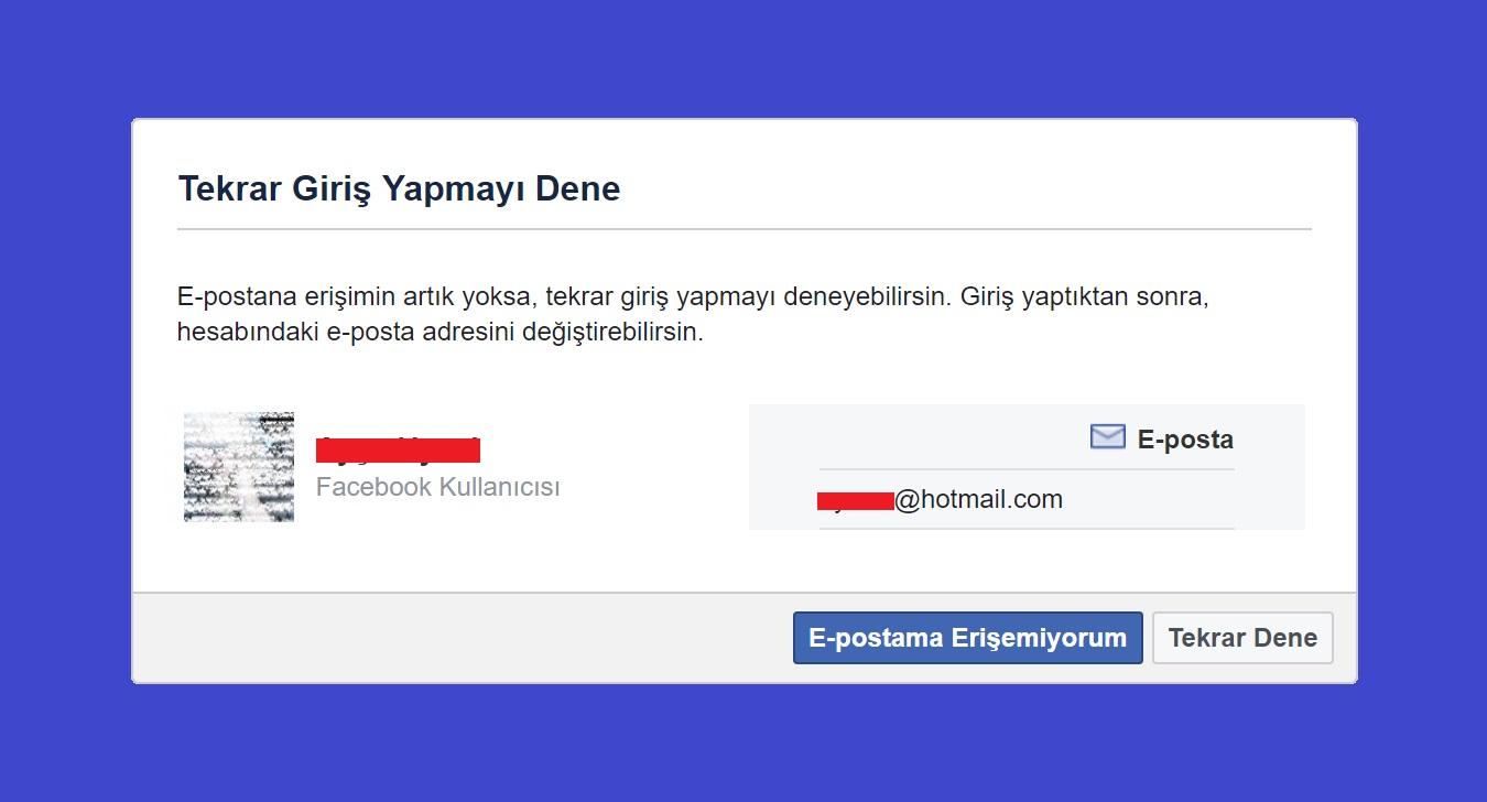 Facebook - Hesabım Çalındı Diyenler İçin Çalınan Hesabı Geri Alma