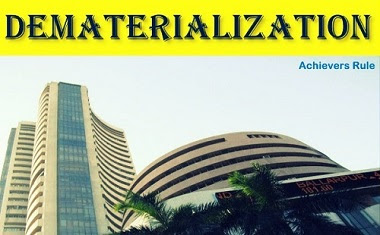 Dematerialization (DEMAT) of securities in India