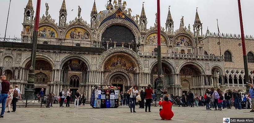 Basílica de São Marcos - Roteiro - 1 dia em Veneza