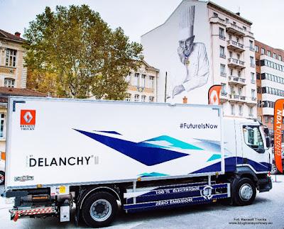 Elektryczny Renault Trucks D, Delanchy