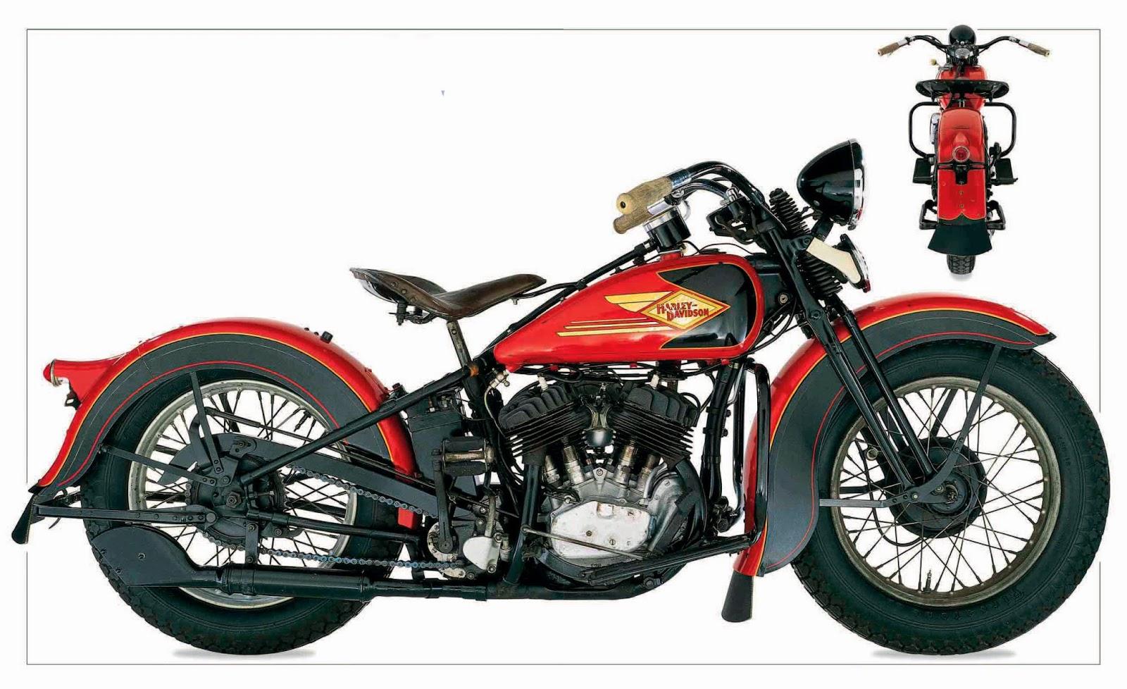 Harley Davidson 1935 RL