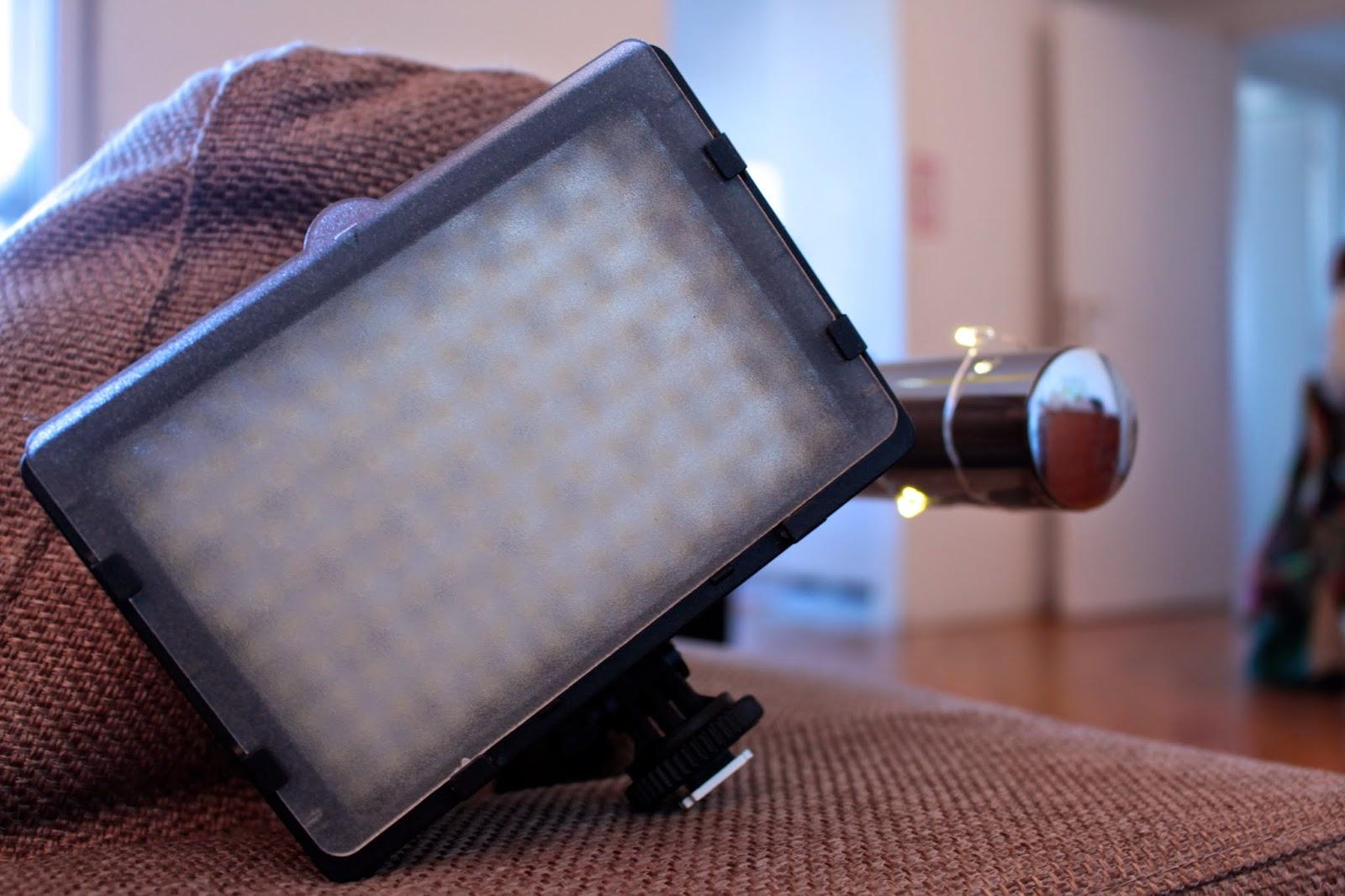 PRO160-LED VIDEO LIGHT