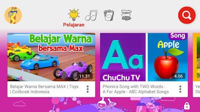 Youtube Kids Aplikasi Edukasi untuk Anak di Smartphone