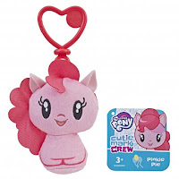 My Little Pony Cutie Mark Crew Pinkie Pie Equestria Girls and Pony Keychain Plush