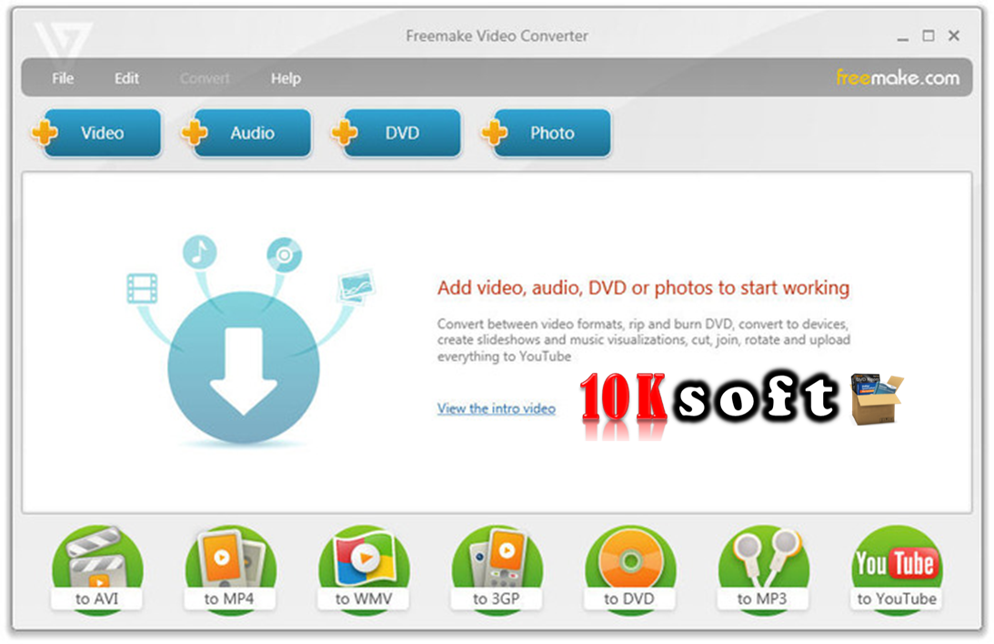Freemake video convertor free download offline installer