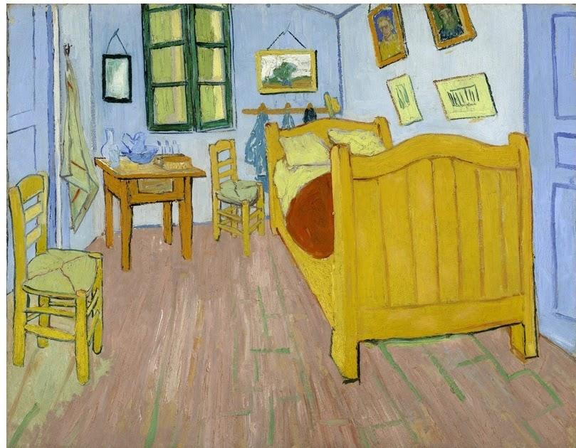 Ciao bambini ciao maestra coloring van gogh la camera da letto - Camera da letto gialla ...
