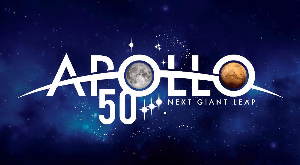 50esimo anniversario della missione Apollo sulla Luna.