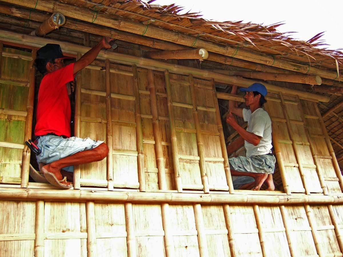 EXPAT AUX PHILIPPINES: CONSTRUIRE UN ... BAHAY KUBO !