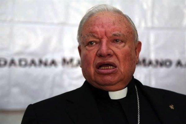 Estar en contra del PRI, es un delito grave ante Dios: Cardenal mexicano