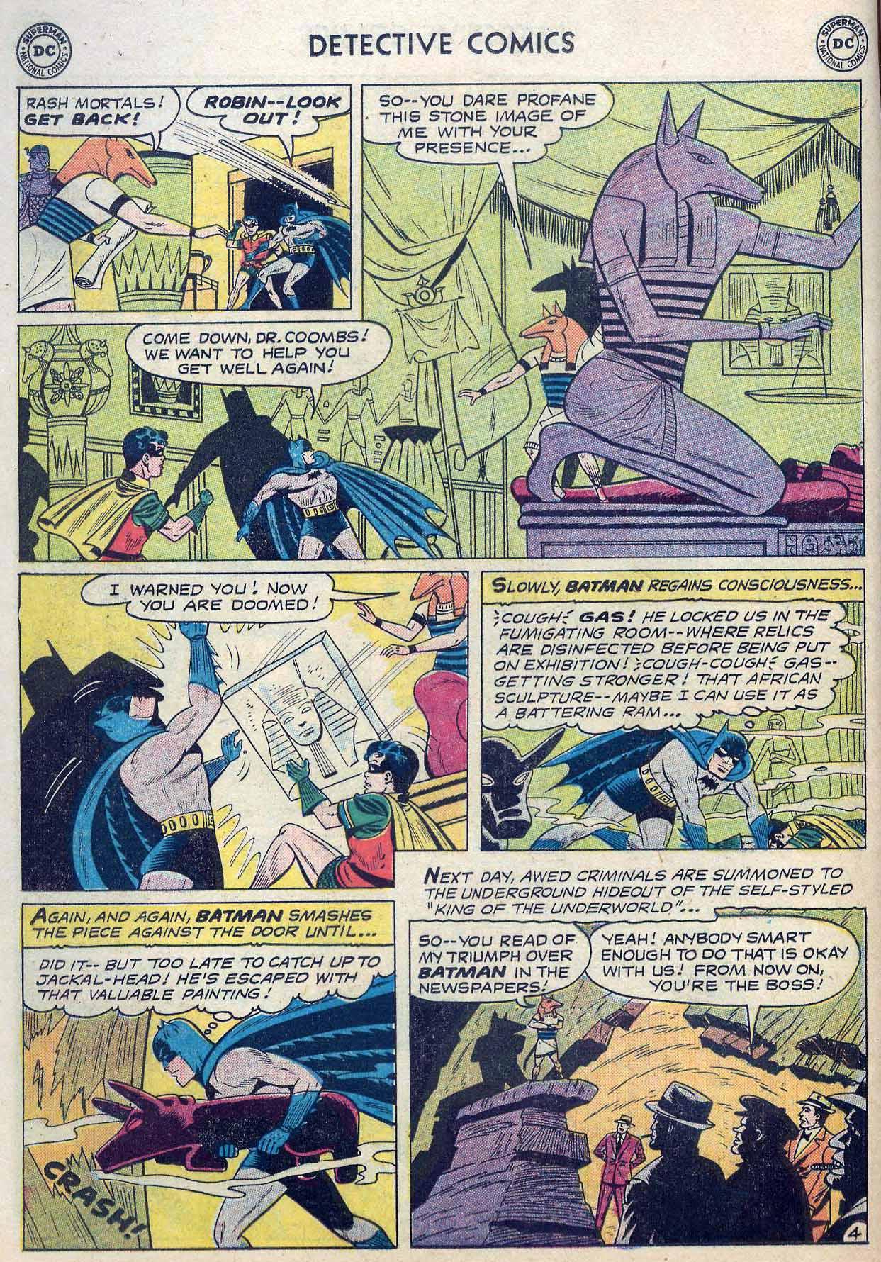 Read online Detective Comics (1937) comic -  Issue #262 - 6