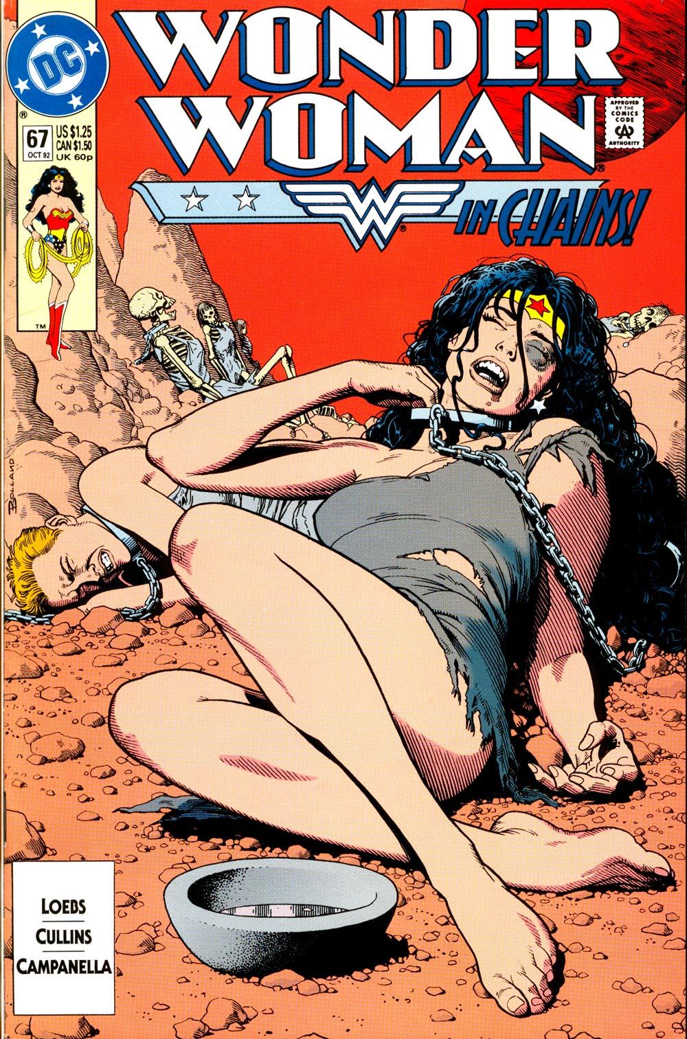 Read online Wonder Woman (1987) comic -  Issue #67 - 1