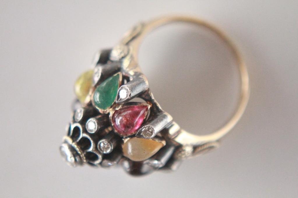 Vintage Alexandrite Rings Very Old Antique Princess Ring