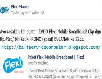 internet flexi evdo