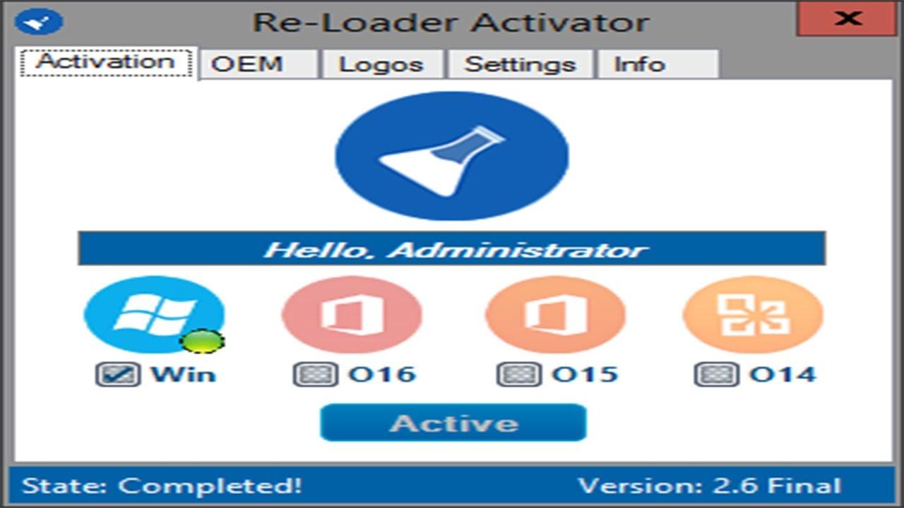 re-loader activator windows 10 terbaru