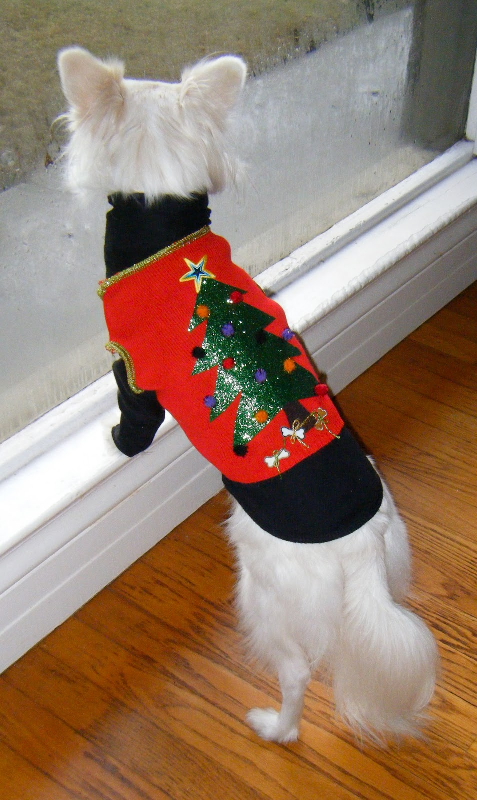 Sew Doggystyle Ugly Christmas Sweater Vest