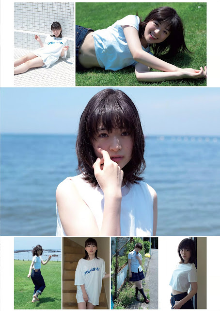 Yuki Mio 優希美青 Weekly Playboy 週刊プレイボーイ No 39-40 2016 Pics 2