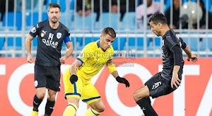 نادي السد القطري يفرض التعادل الاجابي على فريق النصر في دوري أبطال آسيا