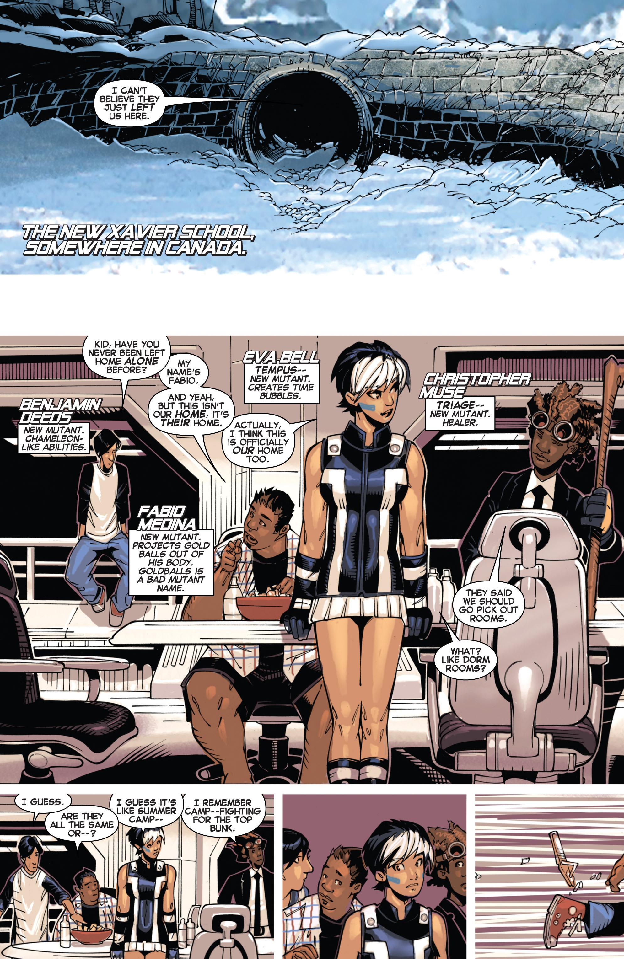 Read online Uncanny X-Men (2013) comic -  Issue #4 - 8