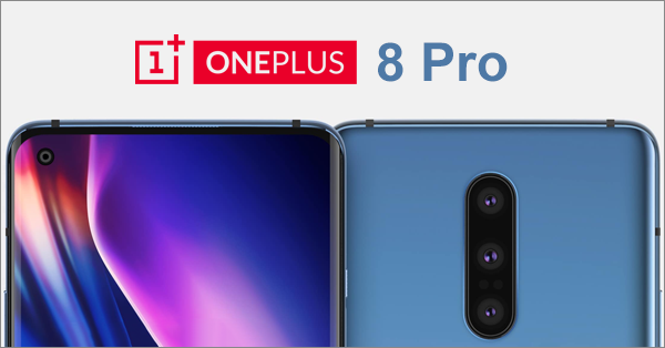 OnePlus, a popular smartphone, has released a render photo of its upcoming Android smartphone, OnePlus 8 Pro.