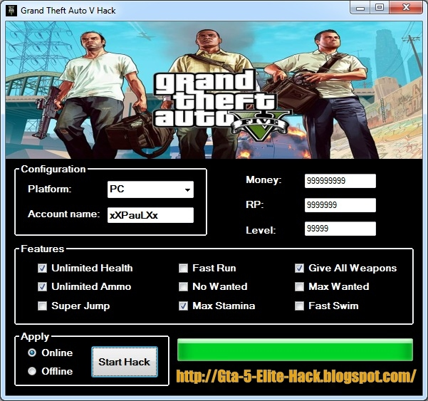 Madison : Gta 5 online money hack ps4 no survey