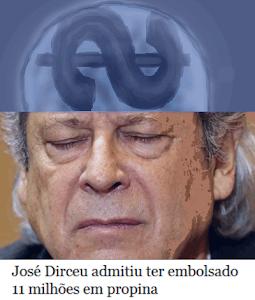 Acha pouco: Zé Dirceu diz ter embolsado 11 milhões em propina, 'pixulecos apenas'