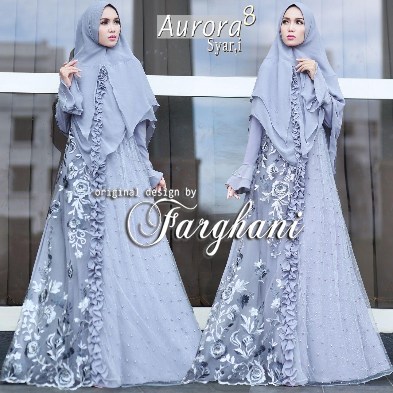 Aurora Long Skirt Warna Abu Referensi Daftar Harga Terbaru My Size Pants Pencil Abuaz492 Muda 3l 8 By Farghani