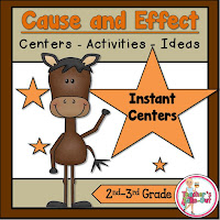 Cause and Effect Activities and Centers