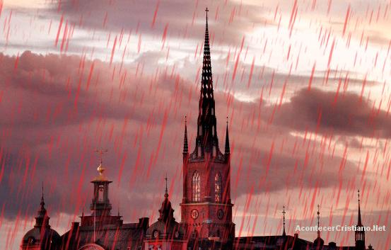 Lluvia de sangre o lluvia roja