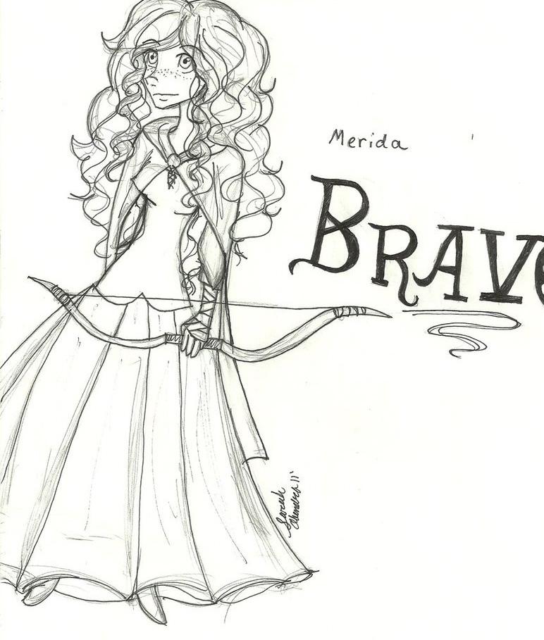 disney brave coloring pages - photo #32