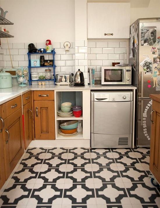 tapete na cozinha