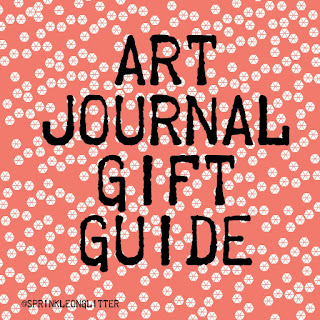 Sprinkle on glitter blog// art journal gift guide