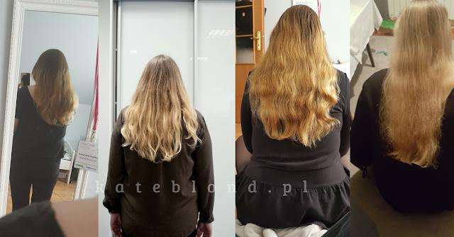 Hair Care Panda żelki na włosy - efekty 3 miesięcznej kuracji - duży porost
