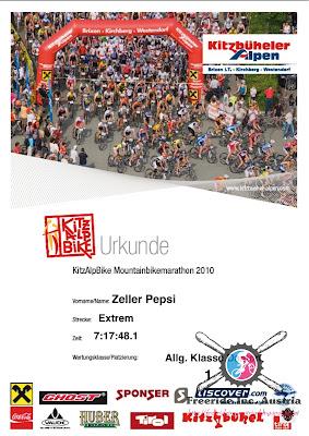 Anmeldung Kitz Alp Bike Marathon