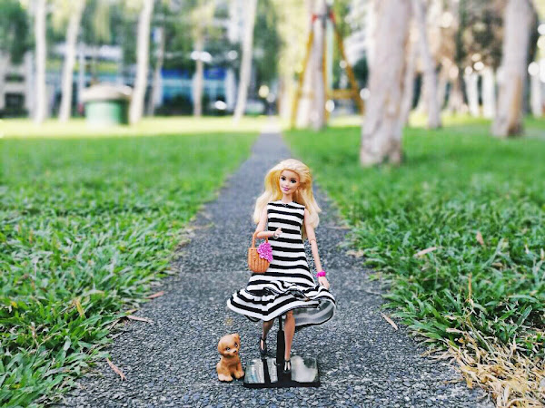 Dolled Up for the Holidays with the Barbie Loves Plains & Prints collection