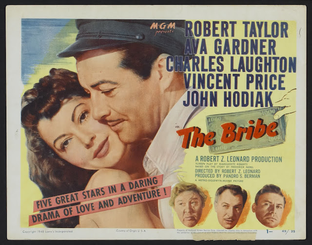 The Bribe 1949movieloversreviews.filminspector.com poster
