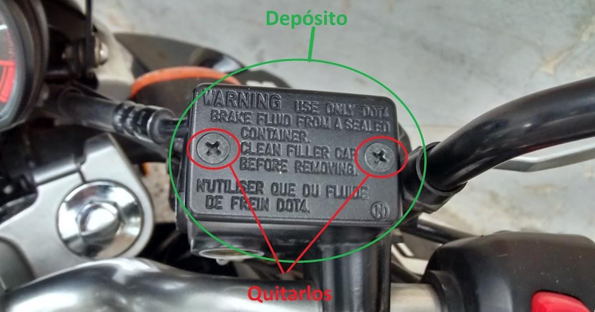 Porque se queda pegado el freno de disco de la moto