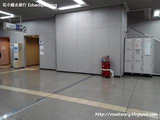 臨空城站的coin locker 位置
