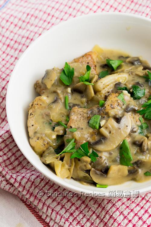 Pork Chops with Creamy Mushroom Sauce Instant Pot03