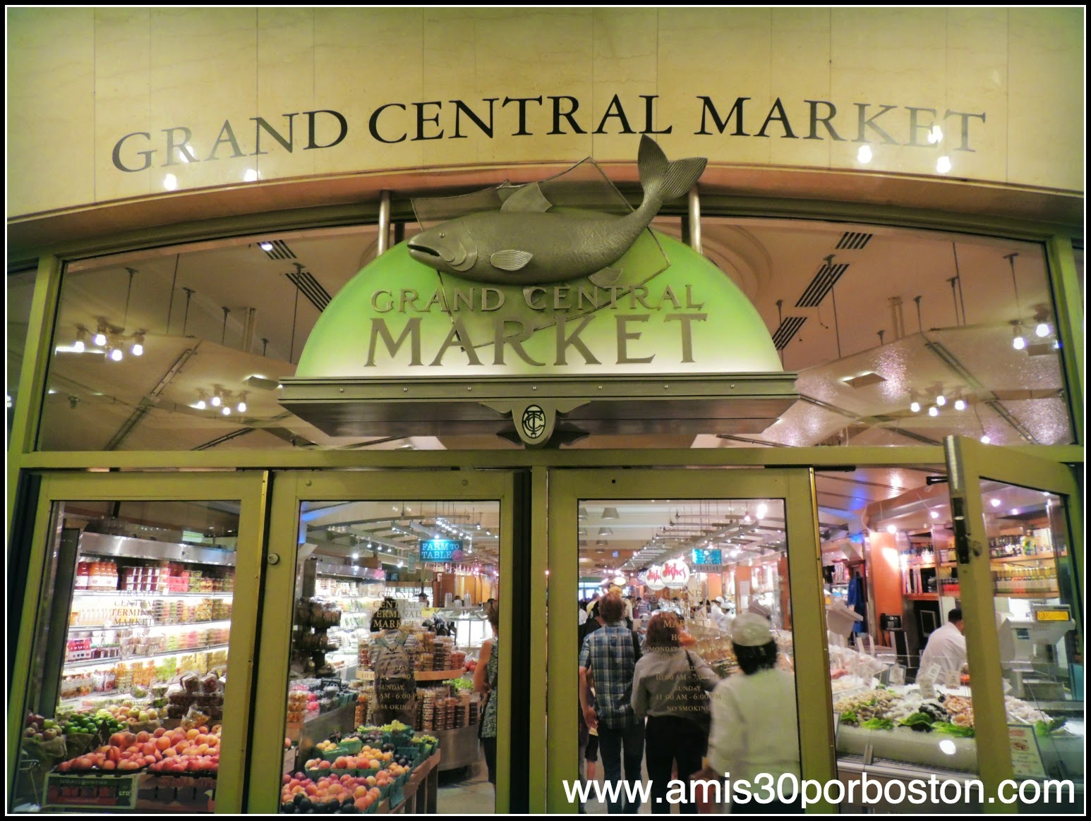 Grand Central Terminal de Nueva York: Gran Central Market