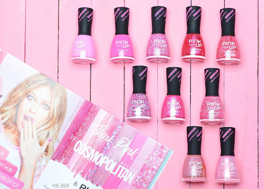 PINK UP – Think Pink by COSMOPOLITAN - Mrs Brooke